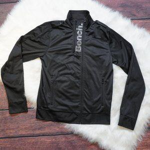 Bench Black Zip Up Sweater